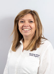 Clair, receptionist at Westbrook House Dental Implant Centre